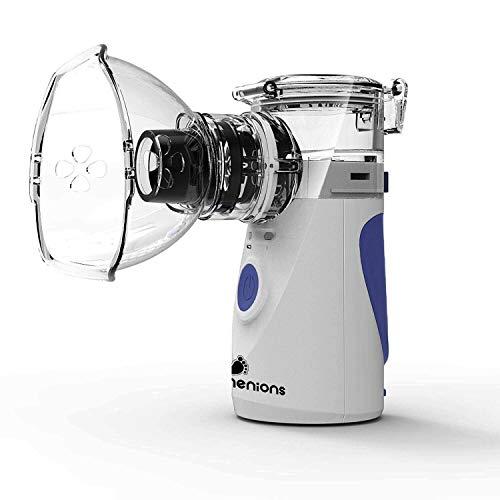 Menions Nebulizador Portátil Inhalador Eléctrico Silencioso