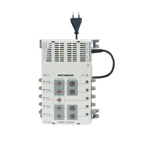 Kathrein VWS 2500 Multischalter-Verteilnetzverstärker (4 x Sat-ZF und 1 x terrestrischer Bereich)