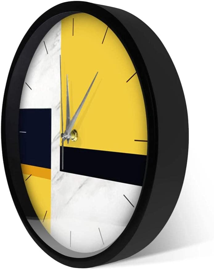 We OFFer at cheap prices Nordic Style Round Wall Clock Modern Decor Design Li Marble New arrival Home