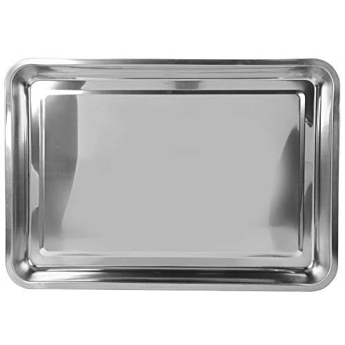 DEWIN Pannenschotel - dikte van de plaat van roestvrij staal bord roestvrij staal grill outdoor servies tafel 0,4 cm