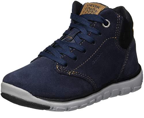 Geox Jungen J XUNDAY BOY A Chukka Boots, Blau (Navy/Black C0045), 37 EU