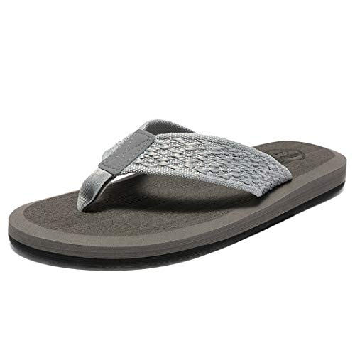 [WOTTE] サンダル メンズ ビーチサンダル 痛くない 島ぞうり ビーサン 軽量 カジュアル シンプルでお洒落 室内/室外履き
