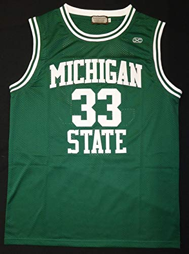 Magic Johnson Autographed Michigan State Spartans Green Jersey - Autographed College Jerseys