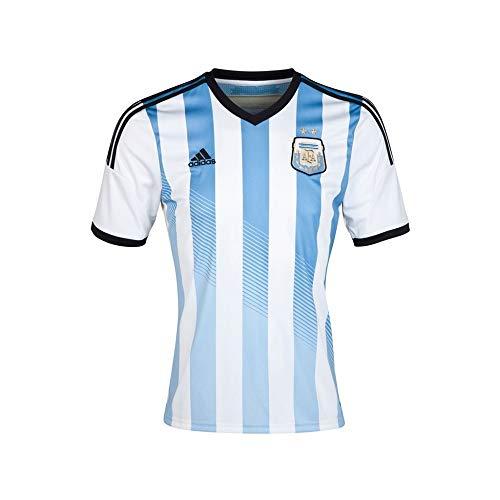 Camiseta Adidas Argentina Home para hombre, color azul, tamaño L