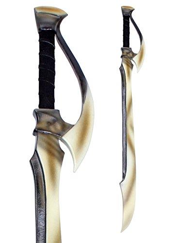 LARP Dunkelelfen-Langschwert 110 cm aus Schaumstoff Langschwert Mittelalter Kriegsschwert Fantasy Polsterwaffe Schaukampf Wikinger