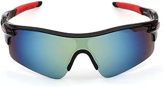 MANW Lunettes de soleil pour hommes lunettes de cyclisme cyclisme sports lunettes de plein air lunettes de soleil-B