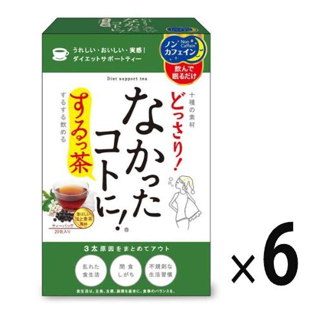 パースブラックボロウ防止無臭(6点セット)(サプリ)グラフィコ なかったことに! するっ茶20包入り (NK1400)