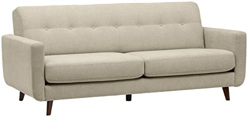 Best Amazon Brand – Rivet Sloane Mid-Century Modern Sofa with Tufted Back, 79.9