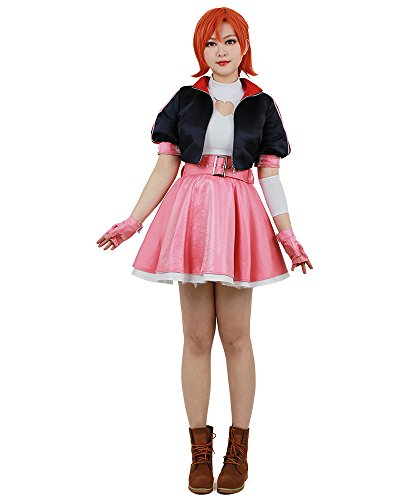 miccostumes Women's Pink Nora Cosplay Costume (Women m)