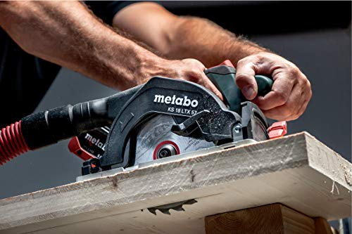 "Metabo 601857840 Akku-Handkreissäge KS 18 LTX 57"" SOLO, 1 V"