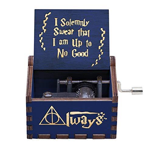 Harry Potter Musikbox im antiken Stil, Jungen, personalisierbar, Spieluhr für Kinder, Heimdekoration, Basteln, Geschenke Hp09