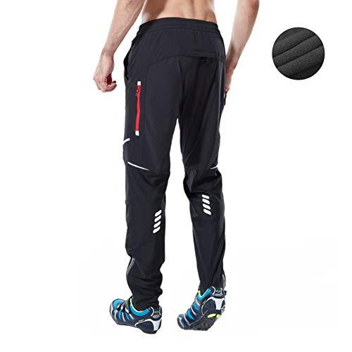 Ynport Crefreak ATHLETIC Radsport MTB Hose Atmungsaktiv Sporthose Winddicht Reithose mit Reißverschlusstaschen