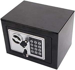 قفل لوحة مفاتيح إلكترونية آمنة للأمان الرقمي لكلمة المرور آمنة للمنزل والمكتب باللون الأسود