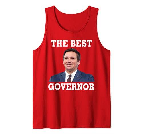 DeSantis El Mejor Gobernador Camiseta sin Mangas