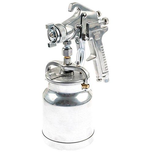 Druckluft Lackierpistole und Sprühpistole mit 1 Liter Saugbecher