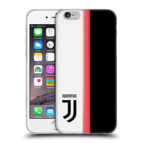 Head Case Designs Offizielle Juventus Football Club Home 2019/20 Race Kit Soft Gel Huelle kompatibel mit Apple iPhone 6 / iPhone 6s