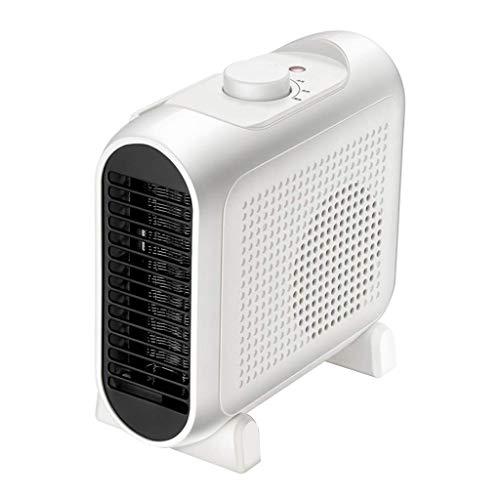 Lsmaa Mini-ventilator, 3 warmte-instellingen voor bescherming tegen oververhitting, convector op de barbecue, intelligente controle van de temperatuur van de camera