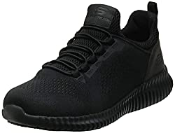 in budget affordable Skechers Cessnock Food Service Men's Shoes, Black, US 11.5 Million