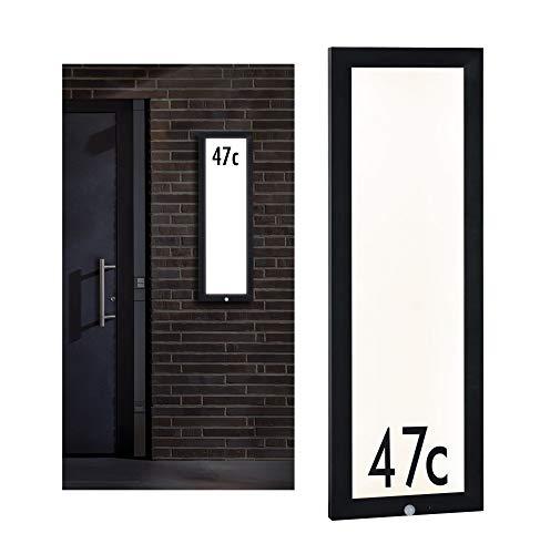 Paulmann 94257 Outdoor Panel LED Außenleuchte eckig incl. 1x19 Watt Anthrazit Aluminium 3000 K Warmweiß, 19 W