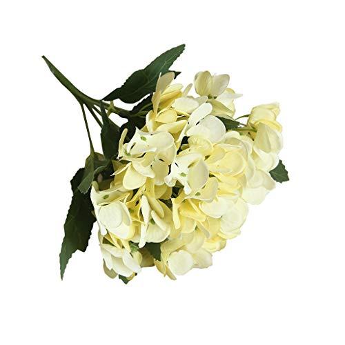 Cerlemi Wohnaccessoires & Deko Kunstblumen Künstliche 5PCS Schmetterling Hortensie Simulation Hortensie Hochzeit Hortensie große Hortensie Braut Hochzeit Blumen