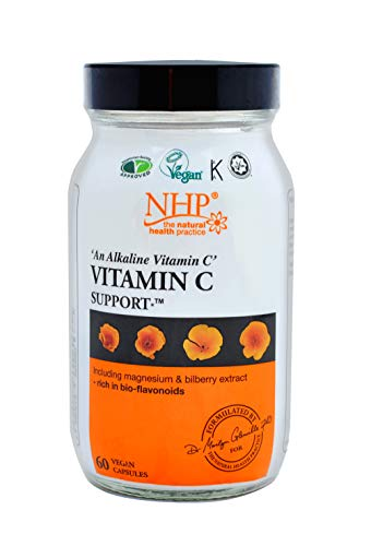 Natural Health Practice Vitamin C Support Supplement (60 Capsules) Immune Booster | Suitable for Vegans and Vegetarians