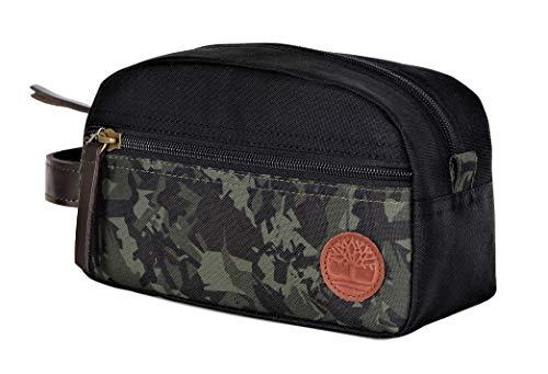 Timberland Camo Canvas Travel Kit Black One Size