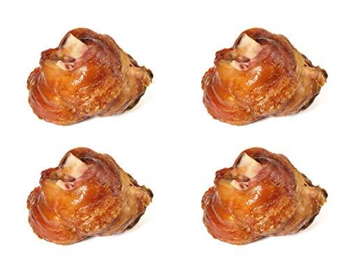 Food-United Grill-Vlieshaxe 3 KG (4 Stk.) mit Nitritpökelsalz und Gewürzen versehen, vorgekocht, mit extra zartem Fleisch aus dem Eisbein des Schweins traditionell bayerisch Münchener Wiesen