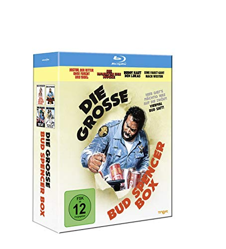 Die grosse Bud Spencer-Box [Blu-ray]