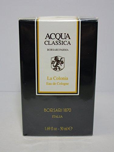 Borsari Acqua Classica la Colonia Eau de Cologne en flacon vaporisateur 50 ml