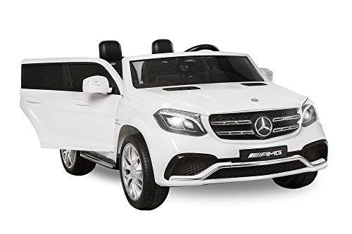Nitro-Motors 2-SITZER Kinderauto Mercedes GLS63 AMG 2x35W Elektroauto Kinderfahrzeug GLS GLE (Weiss)*