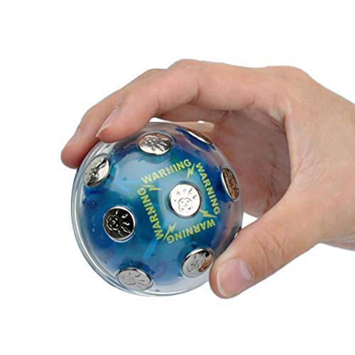 ruixin Elektroschock-Schockball Heißes Kartoffelspiel Lustiges Streichzeug Und Schockspielzeugknebel-Geschenk Praktischer Witz für Lustiges Geschenk Der Weihnachtsfeierabenteuer