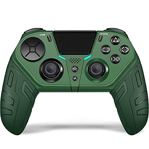 GJFY Controlador inalámbrico for PS4, Compatible con el Controlador Wireless Playstation 4, Control Remoto for PS4 Pro/Slim/Ordenador Personal Panel táctil/función de Audio/Sensor de 6 Ejes (Ver