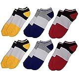 Svance Low Cut Socken Kissen Socken für Damen & Herren (6 Paar)