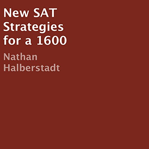 New SAT Strategies for a 1600 audiobook cover art