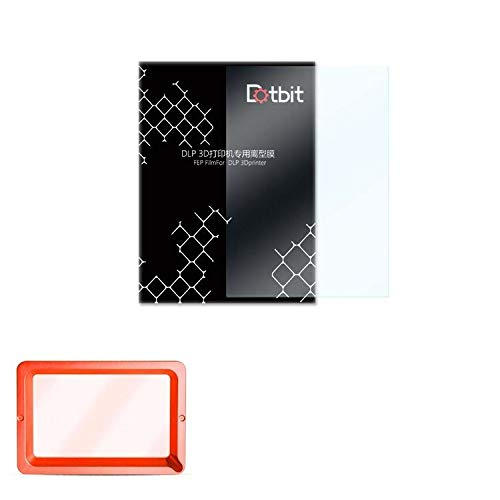 NeverSad 1/2/3/4/5/8/10 Pièces 140x200mm SLA/LCD Film FEP épaisseur 0.15-0.2mm pour Imprimante 3D DLP Résine Photon