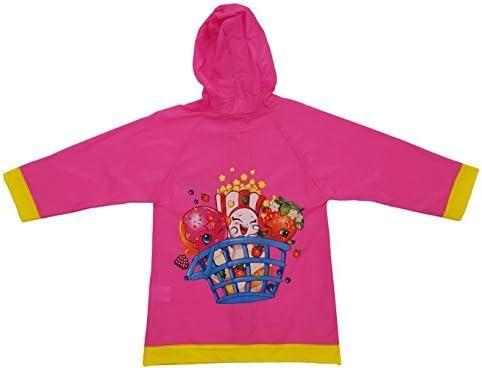 Shopkins Girls Rain Slicker Raincoat (small 2/3)