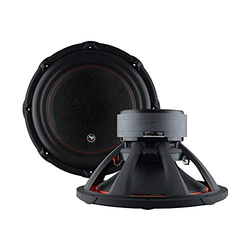 AudioPipe TXX-BDC4-15D 15 Inch 2,800 Watt High Performance Powerful Dual 2 Ohm DVC Vehicle Car Audio Subwoofer Speaker System, Black