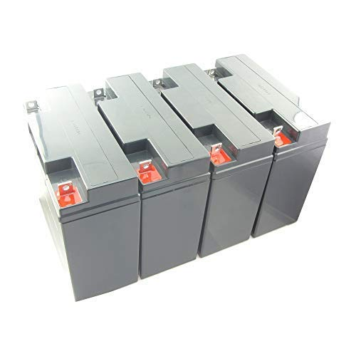 MTXtec Ersatzakku für USV APC Smart UPS 2200/3000, Smart UPS XL 1400/2200 (4 Einzelakkus)