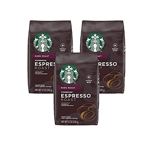 Starbucks Whole Bean Coffee, Espresso Roast, 12 OZ