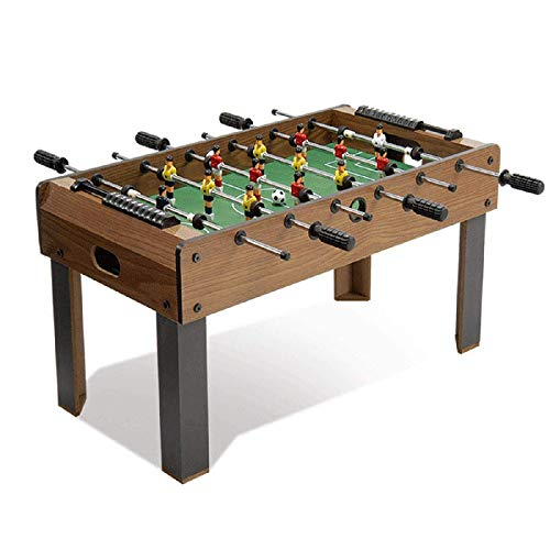 Why Should You Buy CJVJKN Large Table Football, Stable Combination Indoor/Outdoor Football Machine, ...