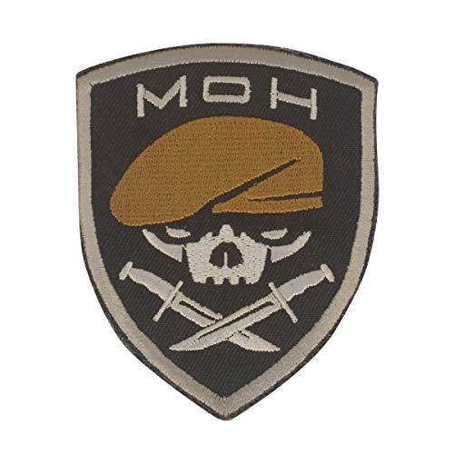 Cobra Tactical Solutions MOH Medal of Honor Ranger Parche Bordado Táctico Moral Militar con Cinta adherente de Airsoft Paintball para Ropa de Mochila Táctica