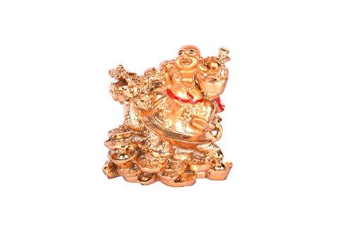 Ryme Vastu Feng Shui Bouddha Rieur avec Dragon–Tortue sur