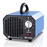 Ozonlife Ozone Generator Air Purifier 6,000 mg/h Portable Ozone Machine for Home Car Smoke Odor Remover