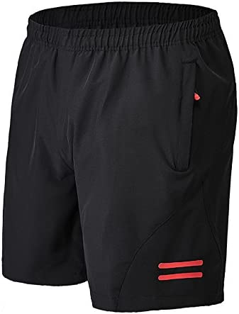 KARMARY Mens Gym Running Shorts Quick Dry Loose Casual Fitness Half Pants Basketable Training Track Short