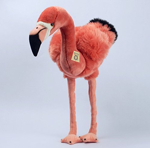 Zaloop Flamingo stehend groß ca. 46 cm Kuscheltier Plüschtier Stofftier Plüsch 73