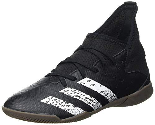 adidas Predator Freak .3 IN J, Zapatillas de fútbol, NEGBÁS/FTWBLA/GUM5, 38 2/3 EU