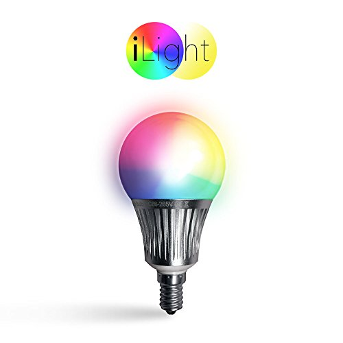 s.LUCE iLight E14 LED Glühbirne 5 W RGBW Farbwechsel Wifi Steuerung iPhone/iPad LED-Lampe