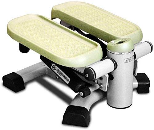 DSG Inicio aptitud paso multifuncional pedal máquina mute stovepipe artefacto hombres y mujeres pérdida de peso máquina fitness equipo stepper-Green