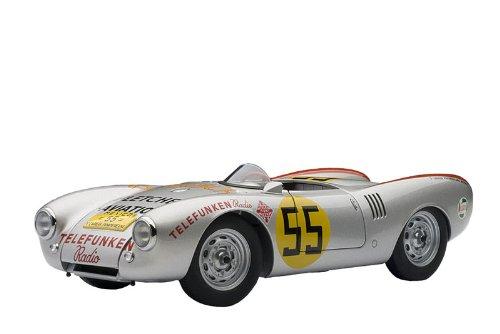 Autoart - 85470 - Véhicule Miniature - Porsche 550 RS - Carrera Panamericana 1954 - Echelle 1:18
