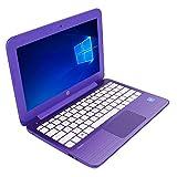 HP Stream 11-r015wm Laptop Intel Celeron N3050 1.6GHz 2GB 32GB 11.6in - Purple -  (Renewed)